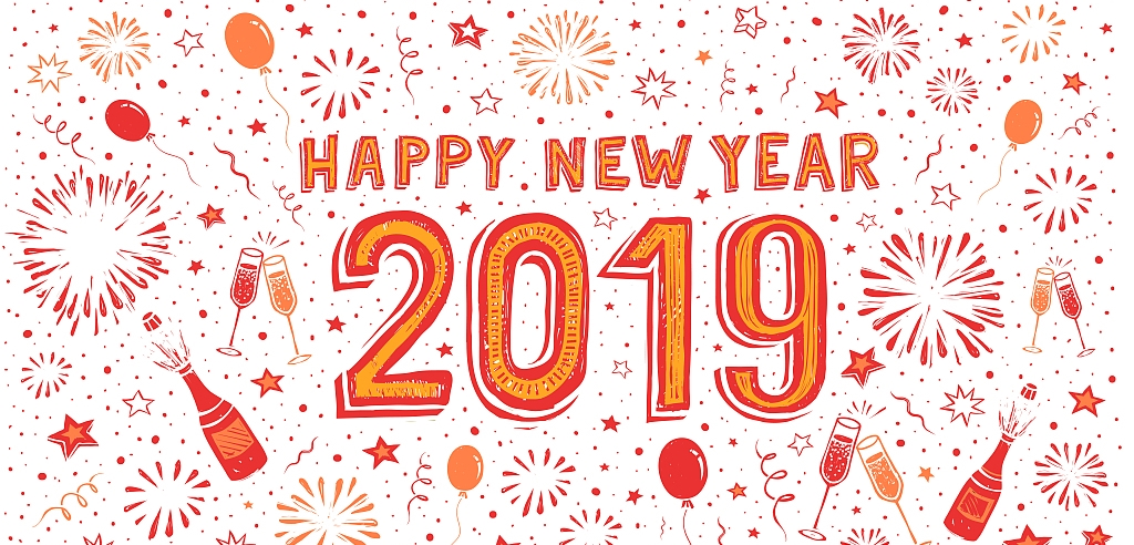 Happy New Year 2019 - Chinese Yuan Machinery