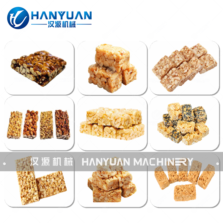 HY-JGL / A nut bar production line